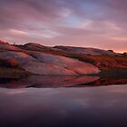 Sunset at Dog Rocks by Lisa  Kenny