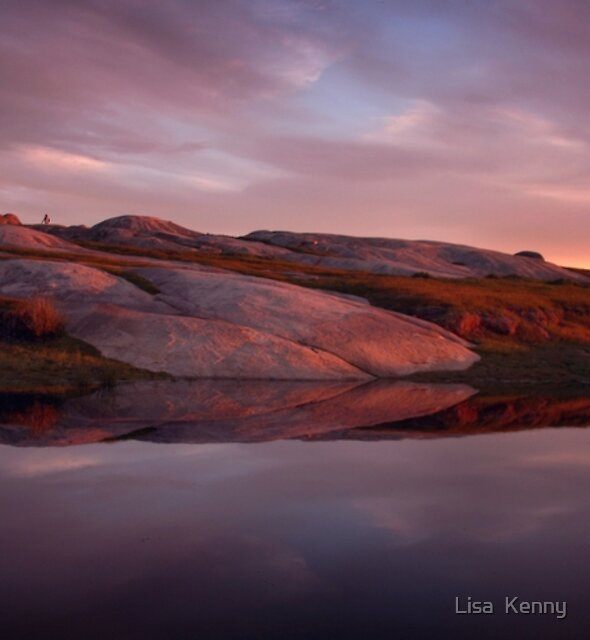 Sunset at Dog Rocks by Lisa Kenny