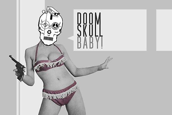 Doom Skull Baby! by Evan Jones