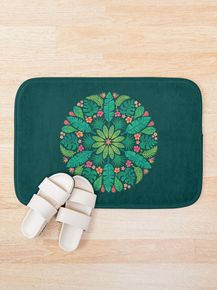 Alternate view of Tropical Sun Bath Mat