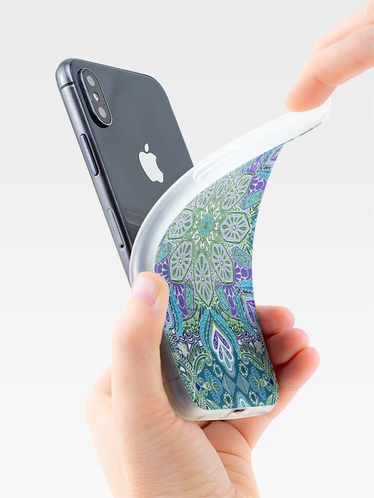 Alternative Ansicht von Pfau Sommer iPhone-Hülle & Cover