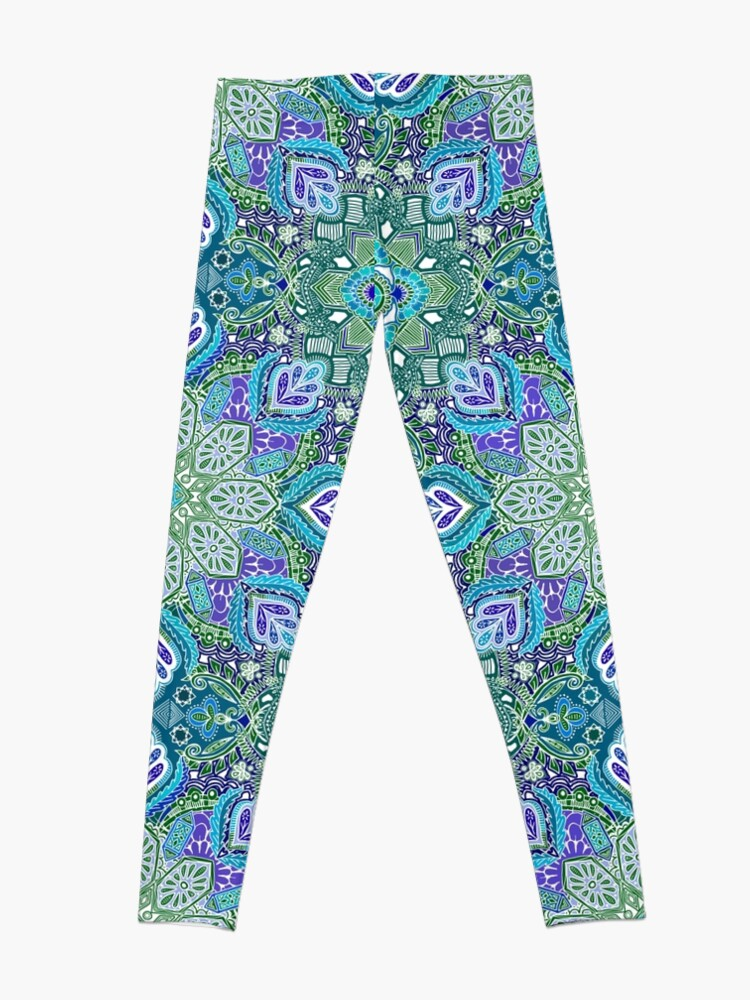 Alternative Ansicht von Pfau Sommer Leggings