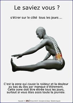 Planches Musculo-squelettique des positions de Yoga - N°21