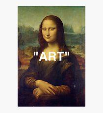 "MONA LISA ""ART"" Photographic Print"