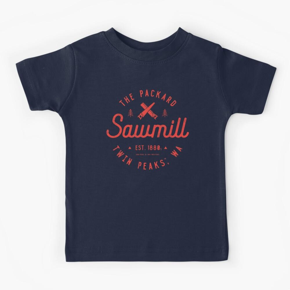 The Packard Sawmill, Twin Peaks Kids T-Shirt