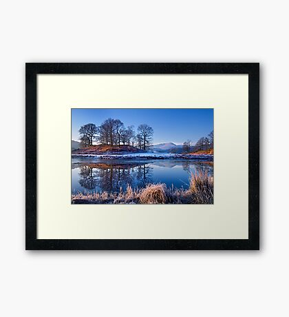 River Brathay Reflections. Framed Print
