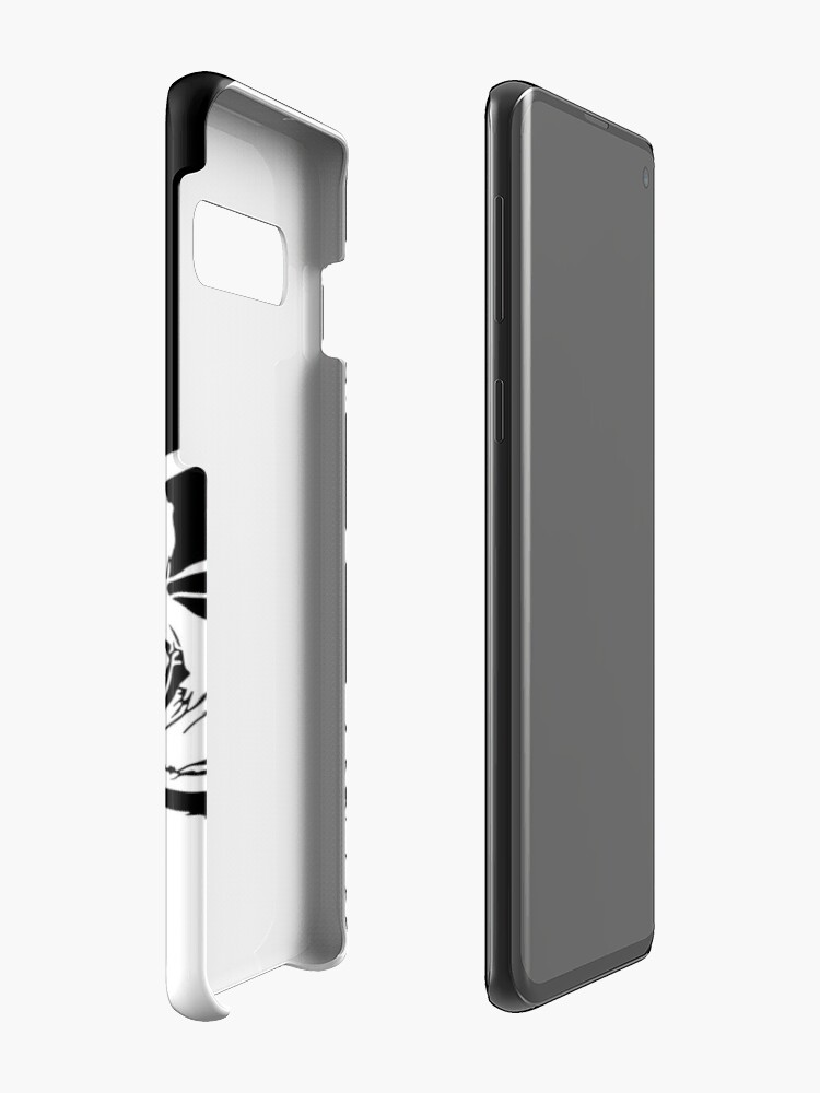 Alternate view of Black and White Vector Astronaut Ed White's Spacewalk Case & Skin for Samsung Galaxy