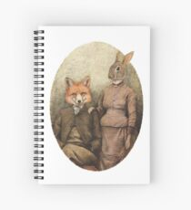 The Foxes Spiral Notebook