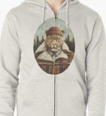 Lumberjack Zipped Hoodie