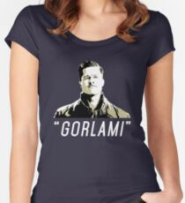 """""""GORLAMI"""" Women's Fitted Scoop T-Shirt"""