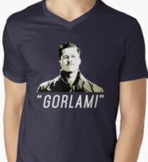 """GORLAMI"" Mens V-Neck T-Shirt"
