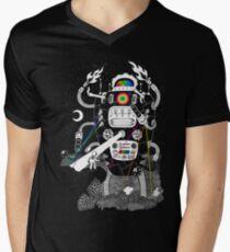 Behold my Wrench, Destructron! Men's V-Neck T-Shirt