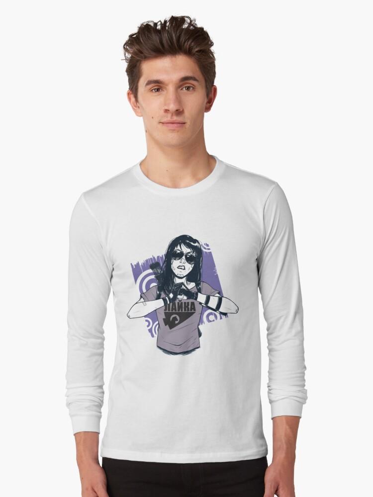 Kate Bishop Long Sleeve T-Shirt Front