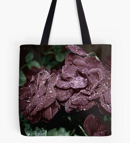 Red Rose With Twist Tote Bag