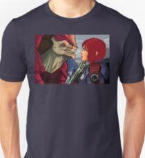 Mass Effect - Wrex vs. Shepard Unisex T-Shirt