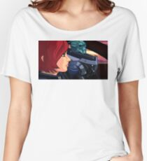 Mass Effect Cartoon - Old Friends Women's Relaxed Fit T-Shirt