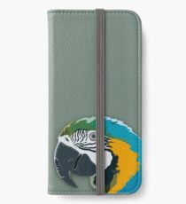 Topographic: Parrot iPhone Wallet/Case/Skin