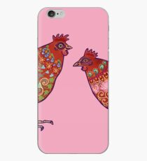 Red Chickens iPhone Case