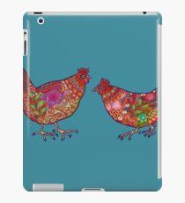 Red Chickens iPad Case/Skin