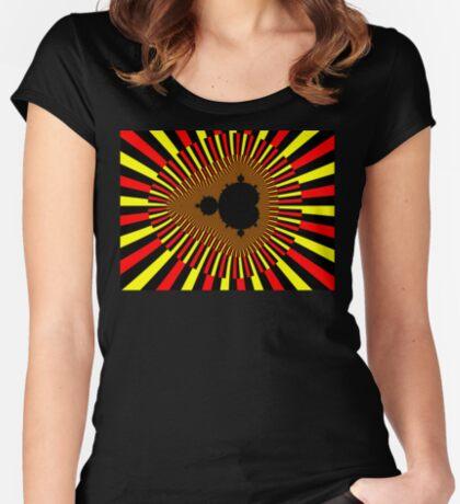 Mandelbrot Power Fitted Scoop T-Shirt