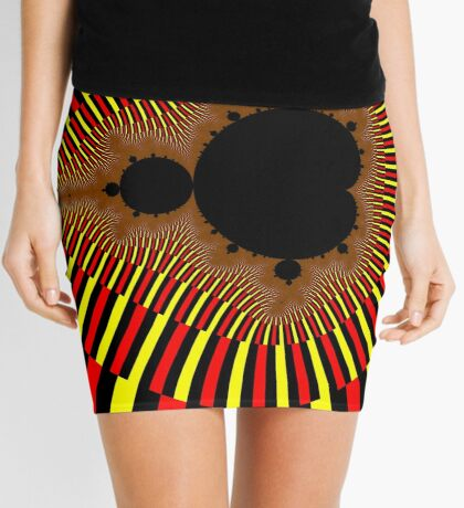Mandelbrot Power Mini Skirt