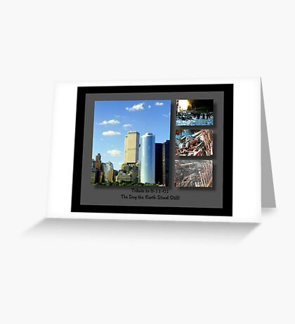 9-11 Tribute ©  Greeting Card