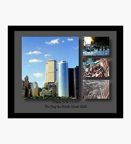 9-11 Tribute ©  Photographic Print