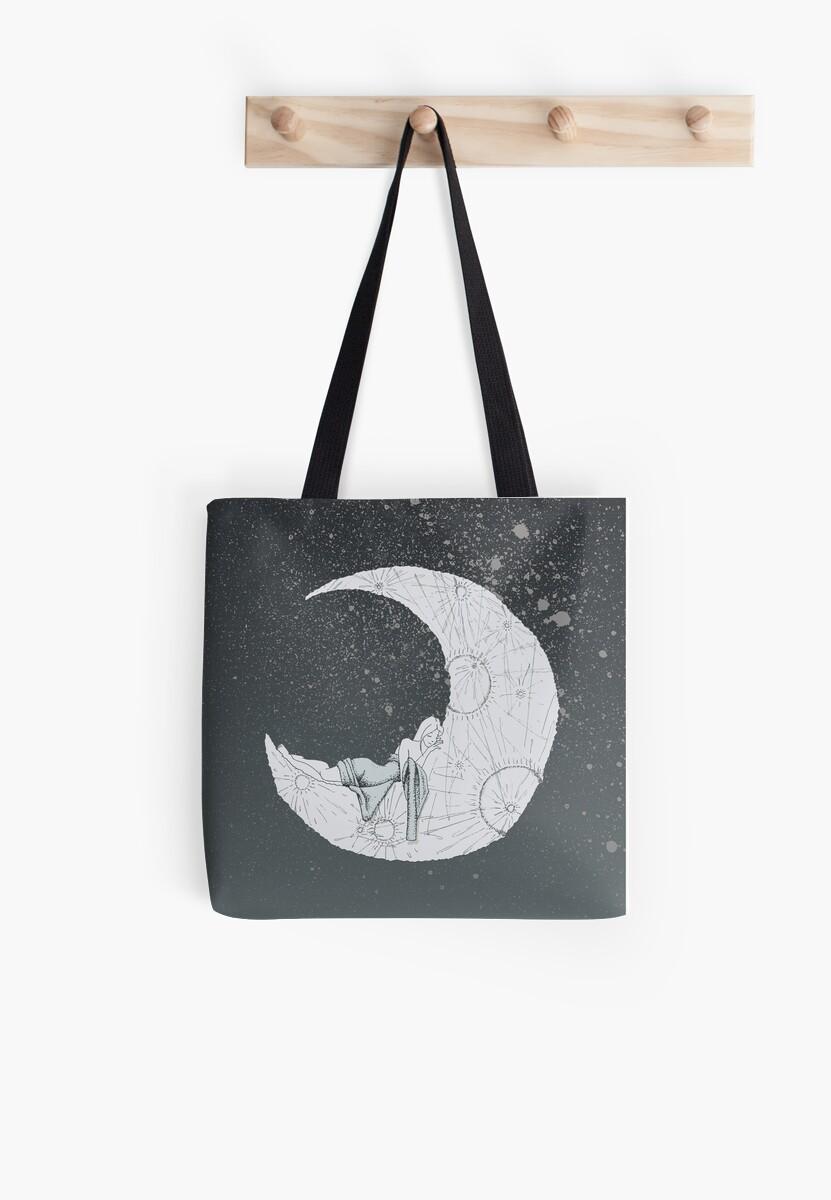 Sleeping Moon by Olivia Sementsova
