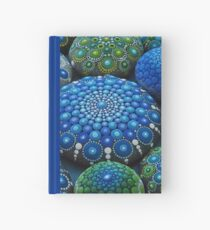 Cool Tone Mandala Stone Collection Hardcover Journal