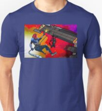 Mass Effect Cartoon - Husk Attack Unisex T-Shirt