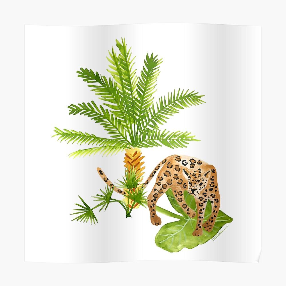 Jaguar Animal Print Poster