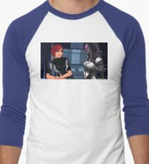 Mass Effect Cartoon - Tali Men's Baseball ¾ T-Shirt