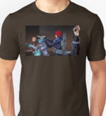 Mass Effect Cartoon - An Attack on the Cerberus Base Unisex T-Shirt