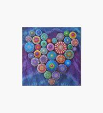 Love Rocks Mandala Stone Collection by Elspeth McLean Art Board