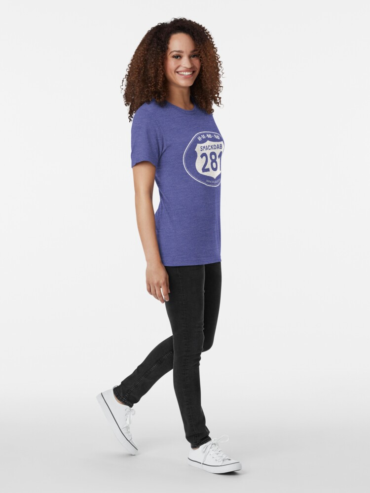 Alternate view of Smackdab Logo Tri-blend T-Shirt