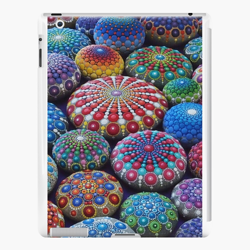 Juwel Drop Mandala Stone Collection # 2 iPad-Hüllen & Klebefolien