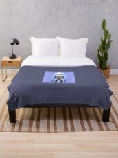 Aliza and the mandala Throw Blanket