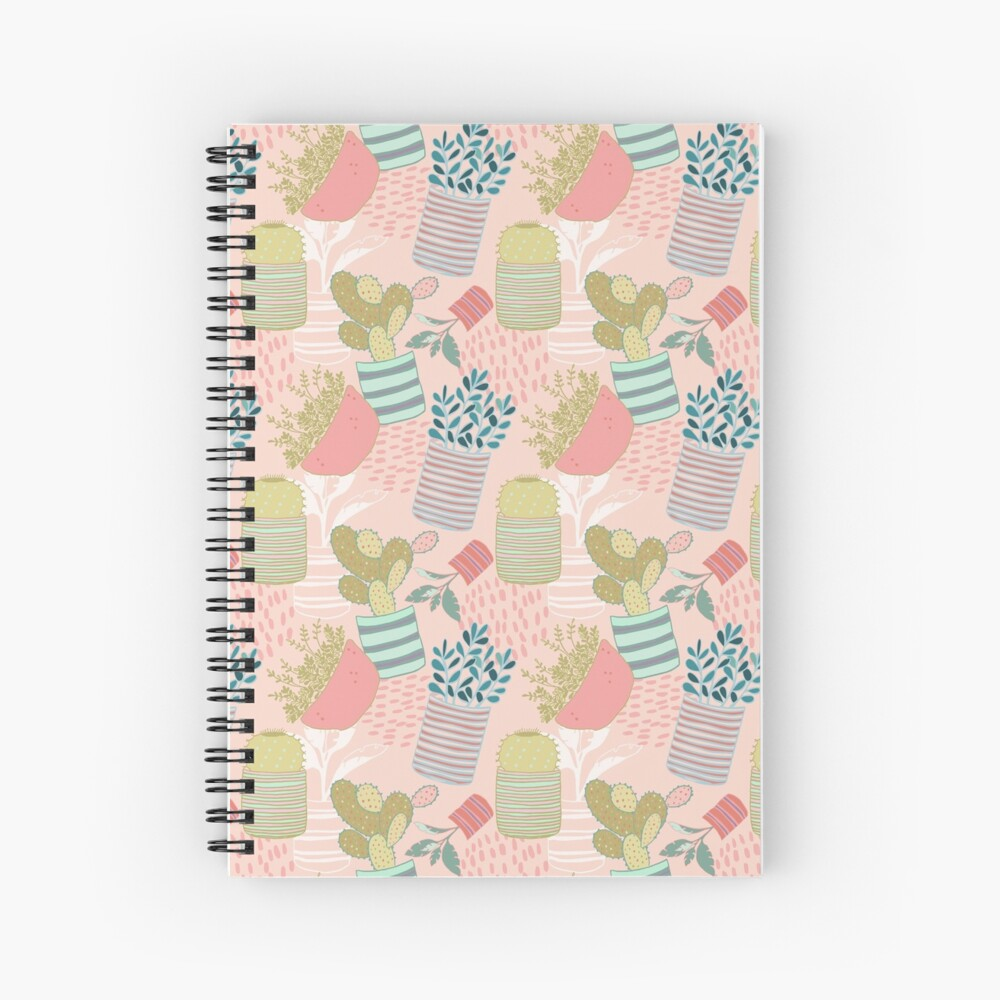 Cactus Toss Spiral Notebook