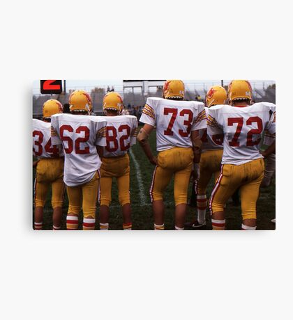 Something for the Girls Who Like Sports Canvas Print