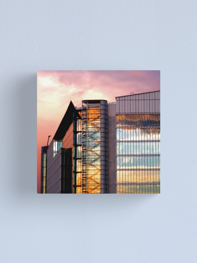 Alternate view of Looking Forward Canvas Print