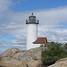 Annisquam Lighthouse by Monnie Ryan