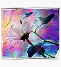 Pastel floral Poster