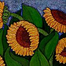 There are always Sunflowers in my life... by Madalena Lobao-Tello