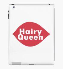 Hairy queen parody logo geek funny nerd iPad Case/Skin