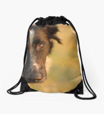 Man's Best Friend Drawstring Bag