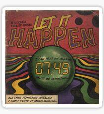 Let it Happen - Tame Impala Sticker