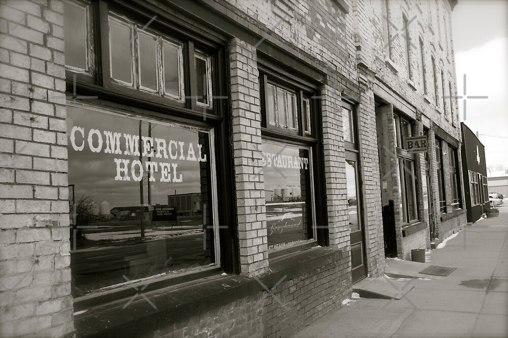 The Commercial Hotel  by Raquel Fletcher