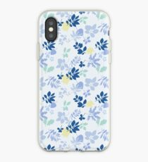 James May's Blue Flowery Shirt iPhone Case