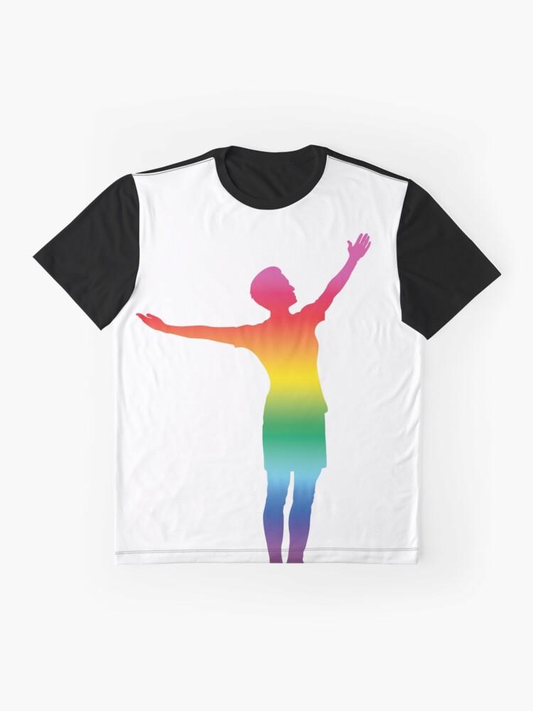 Alternative Ansicht von Megan Rapinoe - STOLZ Grafik T-Shirt