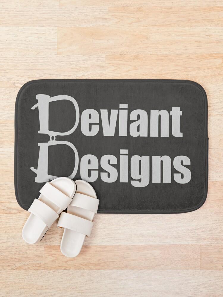 Alternate view of Deviant Designs - Light Bath Mat